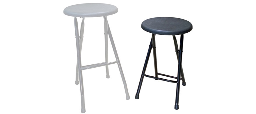 Folding Bar Stool - Reduced Height