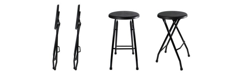 Folding Steel Bar Stools