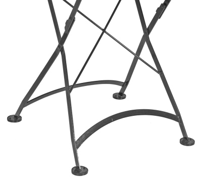 Square Steel Outdoor Folding Table Leg Detail