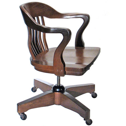 Jury Swivel Armchair with Casters