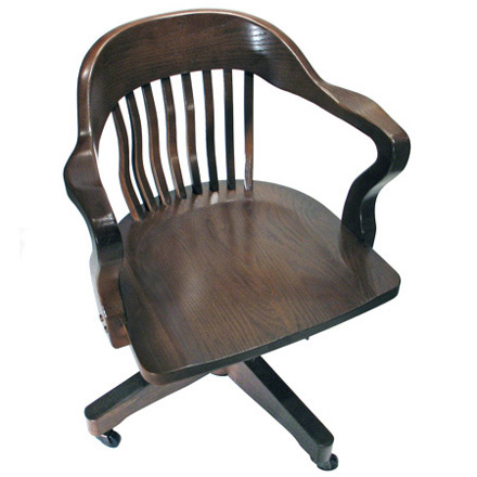 Seat Detail Jury Swivel Armchair with Casters