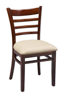 Ladderback Chair Upholstered Seat