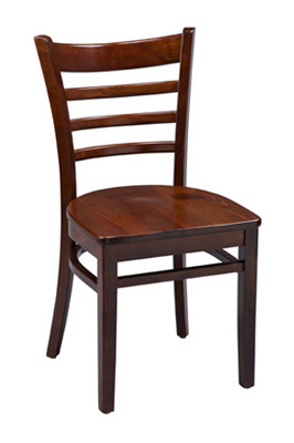 Ladderback Chair Wood Seat