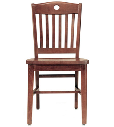 Oak Lake Lodge Chair Wood Seat