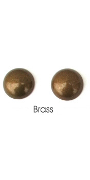 Brass Nail Trim Detail