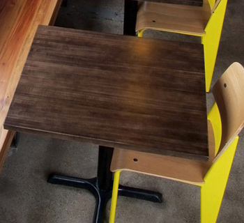 Solid Maple Restaurant Tables