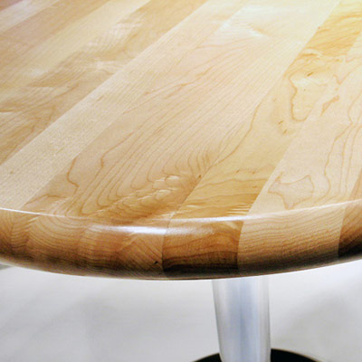 Maple Table Top Random Width Construction A5 Edge 1.75 Thick