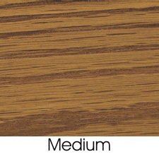 Medium Oak Stain On Oak Wood Species