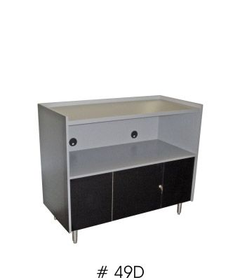 Microwave Cabinet For Two Microwave Ovens 42 Inches X 49 Inches