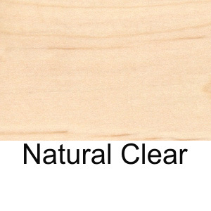 Wood Veneer Restaurant Table Standard Natural Clear Finish On Beech