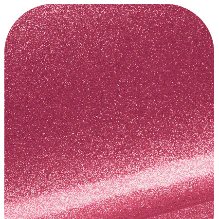 Naugahyde Zodiac Hot Pink Sample Showing Glossy Surface