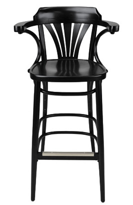New York Cafe Bar Stool Front View