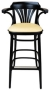New York Cafe Bar Stool Vinyl Seat