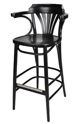 New York Cafe Bar Stool Side View