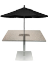 Outdoor Aluminum Umbrella Table Bases