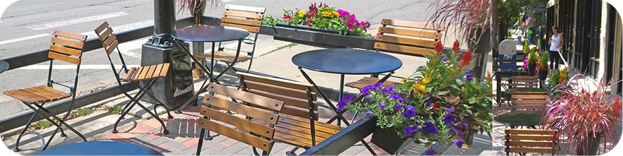 Outdoor City Street Furniture
