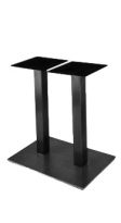 Rectangular Plate Steel Restaurant Table Base
