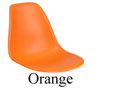 Polypropylene Seat Orange