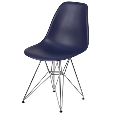 Budget Polypropylene Shell Chair Front View