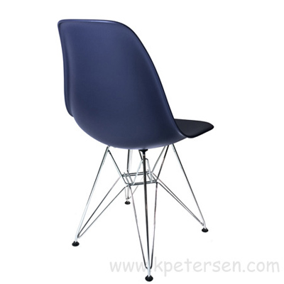Budget Polypropylene Shell Chair Rear View