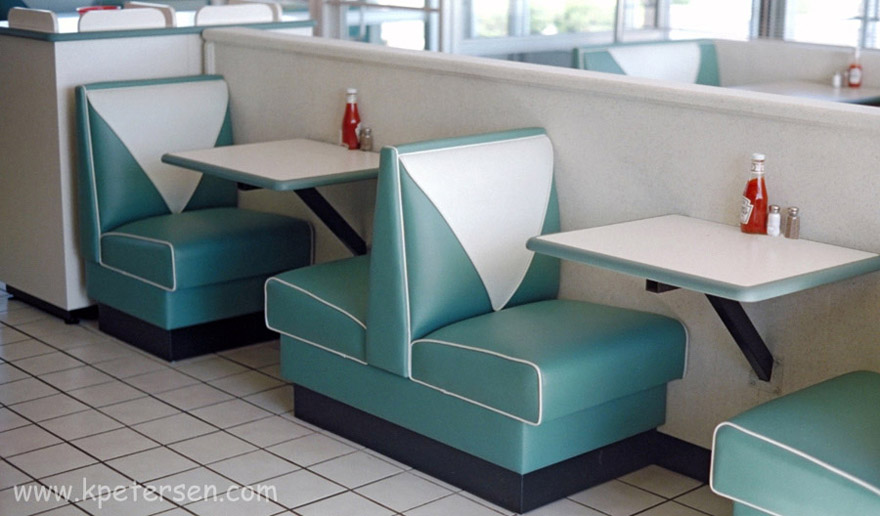 Dur A Edge Polyurethane Restaurant Booth Tables.