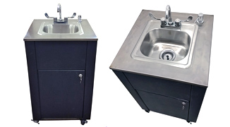 Portable Hand Washing Sink Station Cabinet