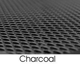 Charcoal Metal Mesh Finish Selection