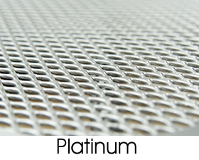 Platinum Metal Mesh Finish Selection