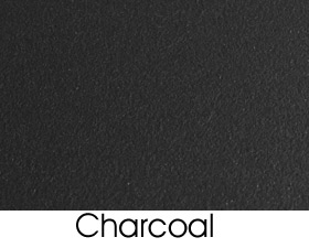 Charcoal Solid Metal Finish Selection