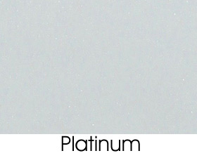 Platinum Solid Metal Finish Selection