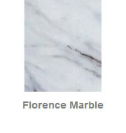 Powdercoated MDF Core Restaurant Table Top Color Option Florence Marble