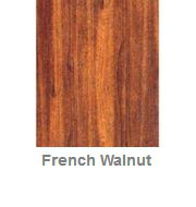Powdercoated MDF Core Restaurant Table Top Color Option French Walnut