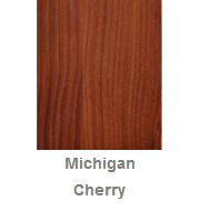 Powdercoated MDF Core Restaurant Table Top Color Option Granite Michigan Cherry