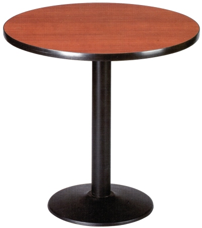 Budget Restaurant Tables - With Round Base Detail