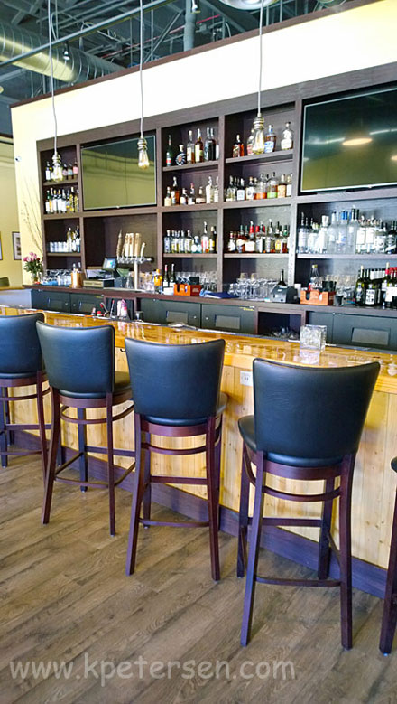 Redeem Wooden Bar Stools Rear View
