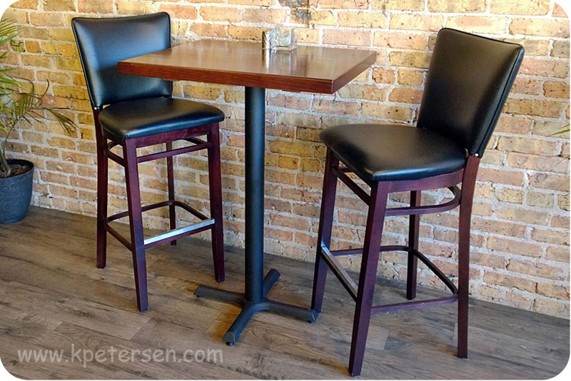 Redeem Wooden Bar Stools Installation