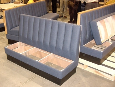 Upholstered Restaurant Booths FAQs Removable Seats