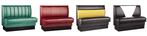 Upholstered Booth Selections