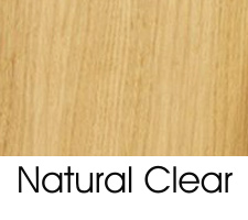 Natural Clear On Oak Wood Species