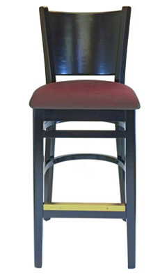 Upholstered Seat Roadhouse Bar Stools
