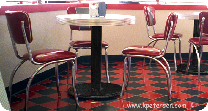 Budget Style Steel and Cast Iron Round Table Bases - Diner Restaurant