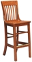Oak School House Barstool