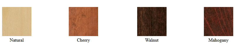 Wood Seat Counter Stool Wood Stain Selections