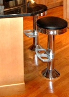 Bolt Down Counter Stool Installation