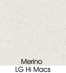 LG Merino Solid Surface Material Selection