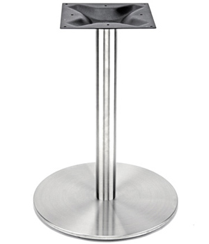 Stainless Steel Table Base with Stainless Steel Column