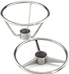 Stainless Steel Footrest Options V And M