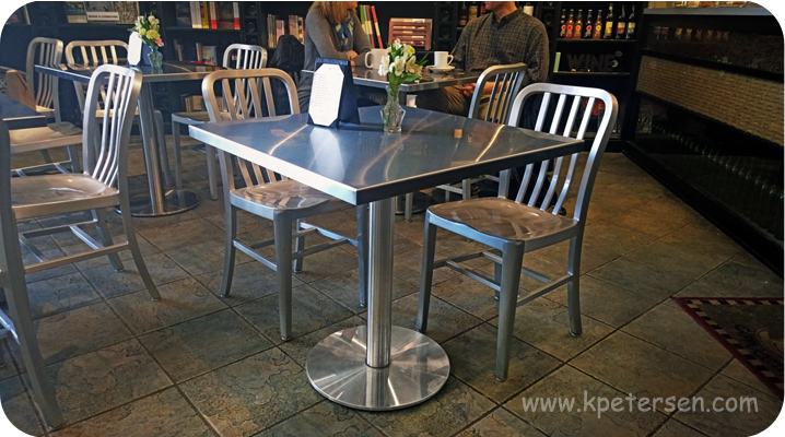 Stainless Steel Table Base Installation