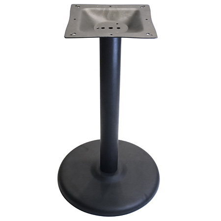 Round Stamped Steel Table Base