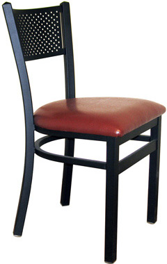 Steel Mesh Back Restaurant Chair